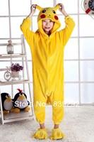 Kids pikachu  onesies Pyjamas Cartoon Animal Cosplay Costume Pajamas Kids Onesies Sleepwear Halloween