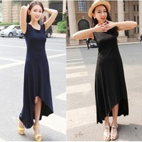 Free Shipping 2014 New Arrival Sexy Sleeveless Tank O-Neck Women Dresses Fashion Bohemia Long Dress