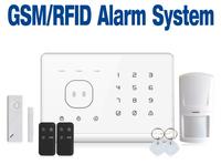 Intercom home security wireless GSM alarm  900/1800/1900MHZ SG-333