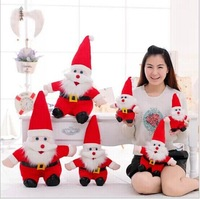 FREE SHIPPING Santa Claus toy stuffed animals toys baby /kids/children toys new year/ christmas gifts 25cm