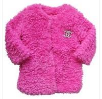2013 wool sweater goatswool medium-large female clothing cotton-padded coat