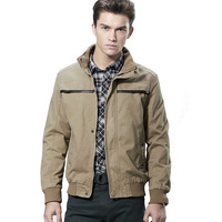 Men's Jacket Autumn&Winter Cotton Padded Overcoat Fashion 2013 New Arrival Free Shipping Whole Sale MWJ202