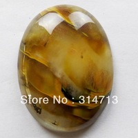 (Min.order 10$ mix) 30x40mm Free shipping Cherry Quartz Oval CAB CABOCHON