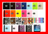 New Smart Slim Cover Magnetic PU Leather Cover Case For iPad Air 5 Wake Sleep Stand +1 Protector +1  Pen Free Shipping