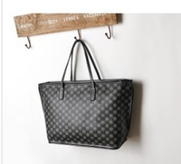 2013 Fashion printing letter bag woman low-key luxury portable HANDBAG FREE SHIPPING