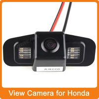 Free Ship 170'' wide viewing Night Vision Car Rear View Camera Reverse Backup for Honda SPIRIOR, EUROPE ACCORD Waterproof Camera