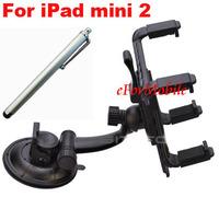 Plastic Car Mount Holder Holder Rotary Holder Tablet Holder + Tablet Pen  For Apple iPad mini 2