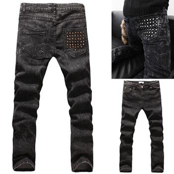 Бесплатная доставка 2014 новый хлопок мужские джинсы hot-продажи конструктор бренд ...