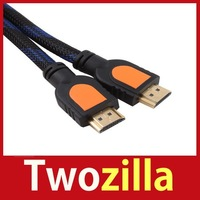 [Twozilla] 1.5 Ft 0.5m HDMI V1.3 AV Cable High Speed Full HD 1080P for Xbox DVD HDTV Hot