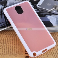 Mix Color TPU Hard Back over Mobile Phone Protective Case For Samsung Galaxy Note 3 N9000