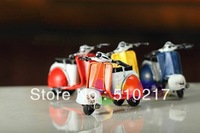 free ship 19pcs Classic retro mini motorcycle model motorbike toy shoot props bar furnishings accessories ornaments crafts model