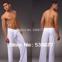 N2N soft silk mens sexy pajamas pants men pants N55 2013NEW
