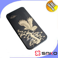 Free shipping For Iphone 4  Golden Eagle Cartoon film Screen protectors protective film full-body SK029
