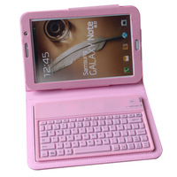 For samsung   note8.0 n5110 n5100 tablet with protective leather case waterproof wireless bluetooth keyboard