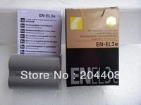 Replacement digital camera Battery EN-EL3E EN EL3E for D200, D300, D700, D90, D8,in retail package new condition,free shipping