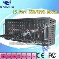 GSM 16 port modem pool ,bulk sms machine --- BL-M-16ports