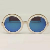 Brand Vintage Designer Fashion Original Sunglasses For Women KW Peek A Boo Retro Sun Glasses Oculos Do Sol Feminino Sunglass