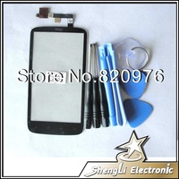 Free Shipping 100% Quality Original Outer LCD Top Touch Screen Replacement Glass For HTC G18 Sensation XE+Open Tools