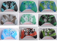 Free shipping 10pcs/lot For XBOX ONE controller wireless Silicone Soft Protective Case