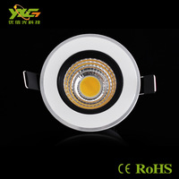 Free shipping 7w 630lm cob led downlight,High quality led cob ceiling lamp