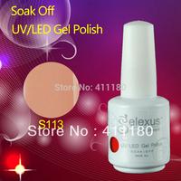 Free Shipping 10Pcs/lot Good Quality Gelexus Soak Off UV Gel Nail Polish Total 337 Fashion Colors