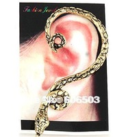 [Minimum Order 10USD] (mixed Order) V004 Whosale Fashion Earrings steampunk Jewelry vintage exaggerate sneak earring
