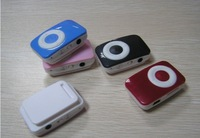 Wholesale! Clip Mp3 player with card slot mp3 player
