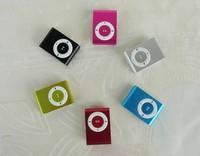 Wholesale MINI clip MP3 Player with Micro TF/SD card Slot