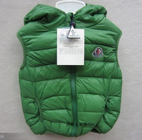 2013 new foreign trade children 's clothes cold down vest down vest cotton vest