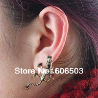 G4FE New Fashion jewelry punk Gothic Dragons Earrings for women girl