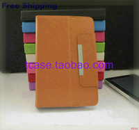 "Flip Magic LEATHER CASE Cover +Stylus+Film For 9.7"" DNS AirTab M972w M975W M973W P970G M970W Tablet Free Shipping"