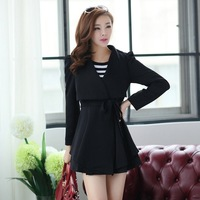 Women's autumn and winter clothes trend women's outerwear girls top outergarment