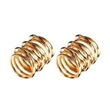 New fashion jewelry trendy twining hollow finger ring punk design  for women girl wholesale  R865(China (Mainland))