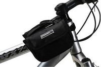 2013 new Cycling Bike Bicycle bigger style Frame Pannier Front Tube Bag Black