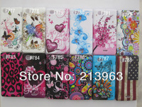 Sample Retail butterfly flower heart zebra vein TPU Gel Rubber Silicion Case Cover For Sony Xperia J st26i