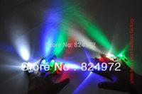 Free Shipping 50 pcs/ lot 4 colors Laser light multi colour laser light ring colorful led finger led party finger