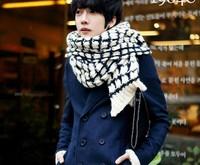 2013 male scarf male yarn winter thick scarf muffler male fashion