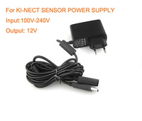 Free Shipping AC Adapter for Kinect Sensor 100 -240V 12 A EU Plug US Plug Power Supply for XBOX Kinect Sensor
