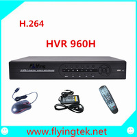 CCTV 8CH 960H( not realtime) H.264 DVR Standalone Super DVR SDVR/HVR/NVR Security System Hot sale FREE SHIPPING