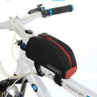 2013 New Red Cycling Bike Outdoor Sports Bicycle Frame Pannier Front Tube Bag