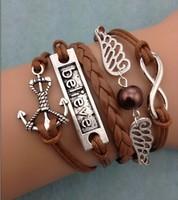 3pcs infinity harry potter charm anchor believe 3101 mini order 10$