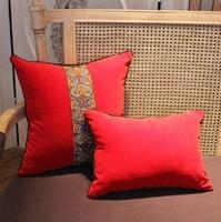 Ikea 2pcs/lot velvet cushions plain covers/Fashion luxury solid color velvet cushion cover/national velvet pillow case/zara home