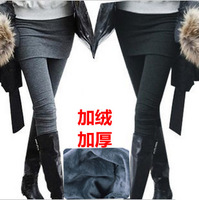 Plus size mm 72 - 104 dress belt step on the foot legging thickening unserchable meat plus size