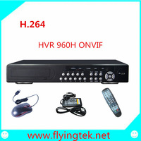 HD 16Channel H.264 960H Standalone DVR Recorder/HVR/NVR with  P2P ONVIF ,16 audio and 8 alarm port