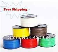 glow in dark color 3D printer filaments ABS/PLA 1.75mm/3mm 1kg