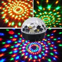 Crystal magic ball led ktv laser light lantern belt voice-activated