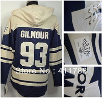 sale epacket free shipping #93 Doug Gilmour Leafs Old Time Hockey Hoodies Pullover Hooded Sweatshirt Jerseys  cheap