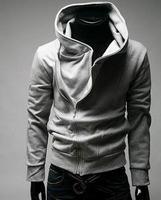Free shipping High Collar Men's Jacket Top Brand ,Men's Dust Coat Hoodies Clothes # 5198