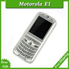 SG Post Free shipping 100 Original Unlocked Motorola E1 Mobile Phone With Russian Keyboard