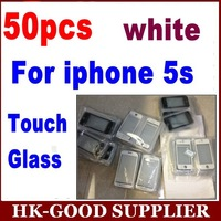 50pcs white Front Digitizer Touch Outer Glass Lens Screen For iPhone 5s 5Gs  Replacement  YL5145-1